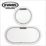 EVANS EQ Bass Drum Patches (2개입) - Clear Plastic (EQPC1/EQPC2)