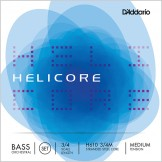 D'addario Helicore Orchestral Double Bass Strings