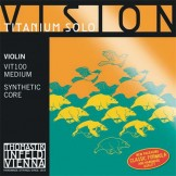 Thomastik Infeld Vision Titanium Solo Violin Strings