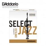 Rico Select Jazz Unfiled Saxophone Reeds