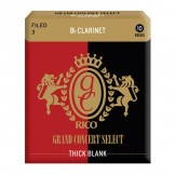 Grand Concert Select Thick Blank Bb Clarinet Reeds