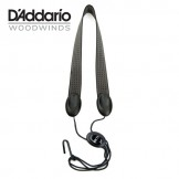 Rico Fabric Sax Strap (Industrial) with Metal Hook
