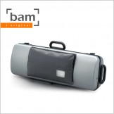 [Bam] Hightech Oblong Viola Case With Pocket - Silver (5202XL)