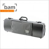 [Bam] Hightech Oblong Viola Case With Pocket - Tweed Look (5202XL)