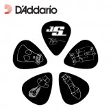 Planet Waves Joe Satriani Guitar Picks, Black