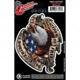 Planet Waves Guitar Tattoo, Freedom Eagle