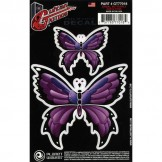 Planet Waves Guitar Tattoo, Tribal Butterfly