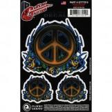 Planet Waves Guitar Tattoo, Peace Tribal