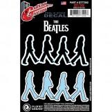 Planet Waves Beatles Guitar Tattoo Sticker, Abbey Road