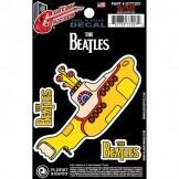 Planet Waves Beatles Guitar Tattoo Sticker, Yellow Submarine
