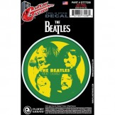 Planet Waves Beatles Guitar Tattoo Sticker, Get Back