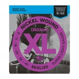 Daddario EKXL120 Nickel Wound, Super Light, Reinforced, 9-42