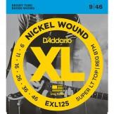 EXL125 Nickel Wound, Super Light Top/ Regular Bottom, 9-46