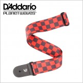 Large Checkerboard - Black & Red : P20W1421