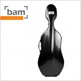 Bam 3.5 컴팩 하이테크 첼로 케이스 블랙 카본(1004XLC)