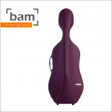 [Bam] L'etoile Hightech Slim Cello Case - Violet (ET1005XL)