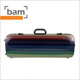 [Bam] Hightech Oblong Compact Viola Case - Paris Limited Edition (5201XL PA)