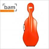 [Bam] Hightech Slim Cello Case - Orange (1005XL)