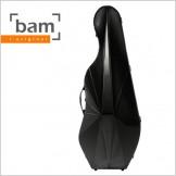 [Bam] L'opera Hightech Cello Case - Black Carbon (OP1006XL)