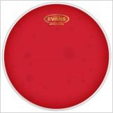 EVANS Hydraulic Red 베이스 상단 헤드(투명)