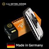 170년 전통의 독일산 하모니카 자이델 모델:블루스 세션 스탠다드10홀