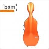 [Bam] La-Defense Hightech Cello Case - Orange (DEF1005XL)
